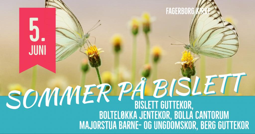 Sommer på Bislett med Bislett guttekor